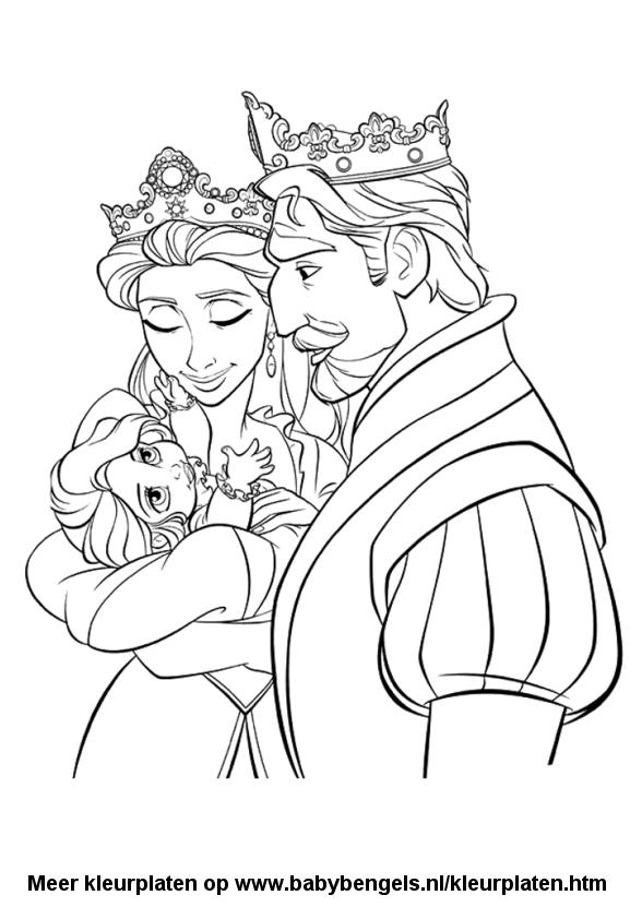 Kleurplaten Over Prinsessen.Kleurplaten Voor Peuters En Kleuters En Kinderen Online Uitprinten